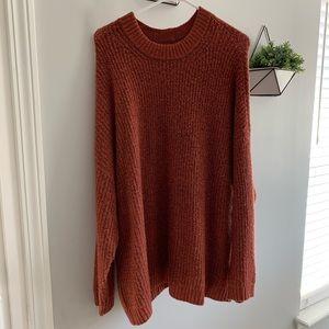AE Oversized softest crew neck sweater